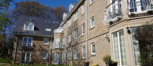 Residential apartment block