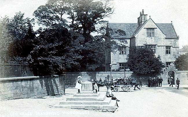 Clerkson's Hall Grade II listed building black & white